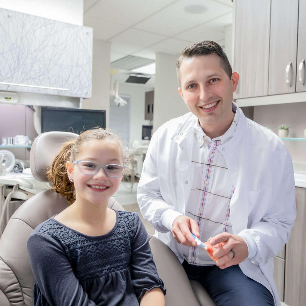 Dr. Wes Karlson and female patient